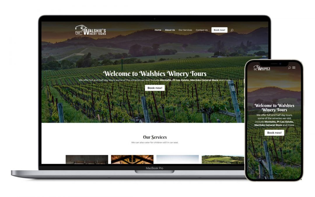Walshie's Winery Tours